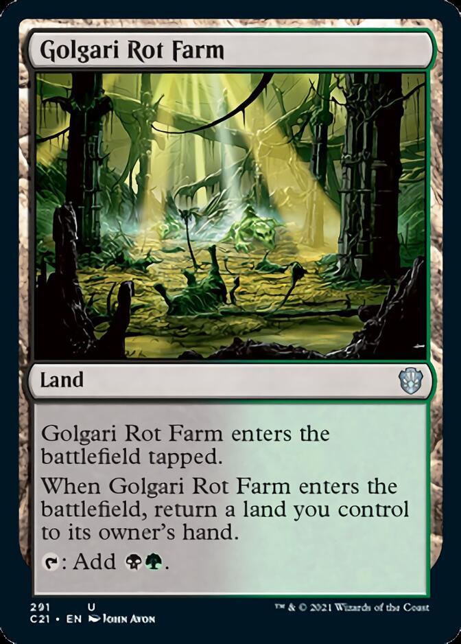 Golgari Rot Farm [C21]