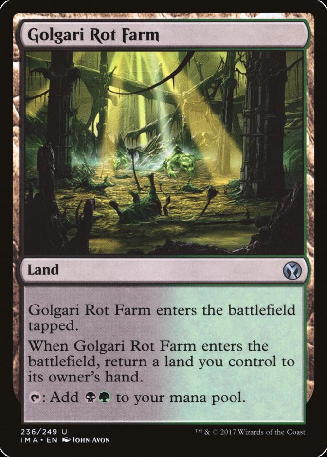 Golgari Rot Farm [IMA] (F)