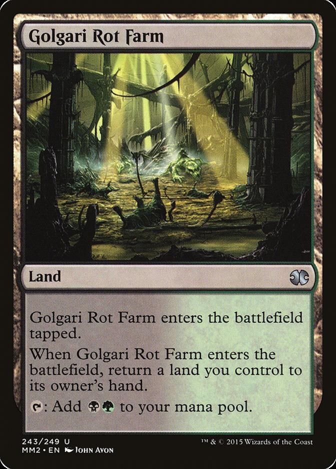 Golgari Rot Farm [MM2]