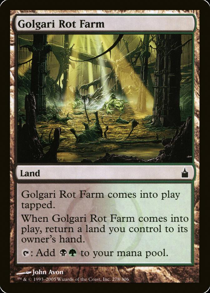 Golgari Rot Farm [RAV]