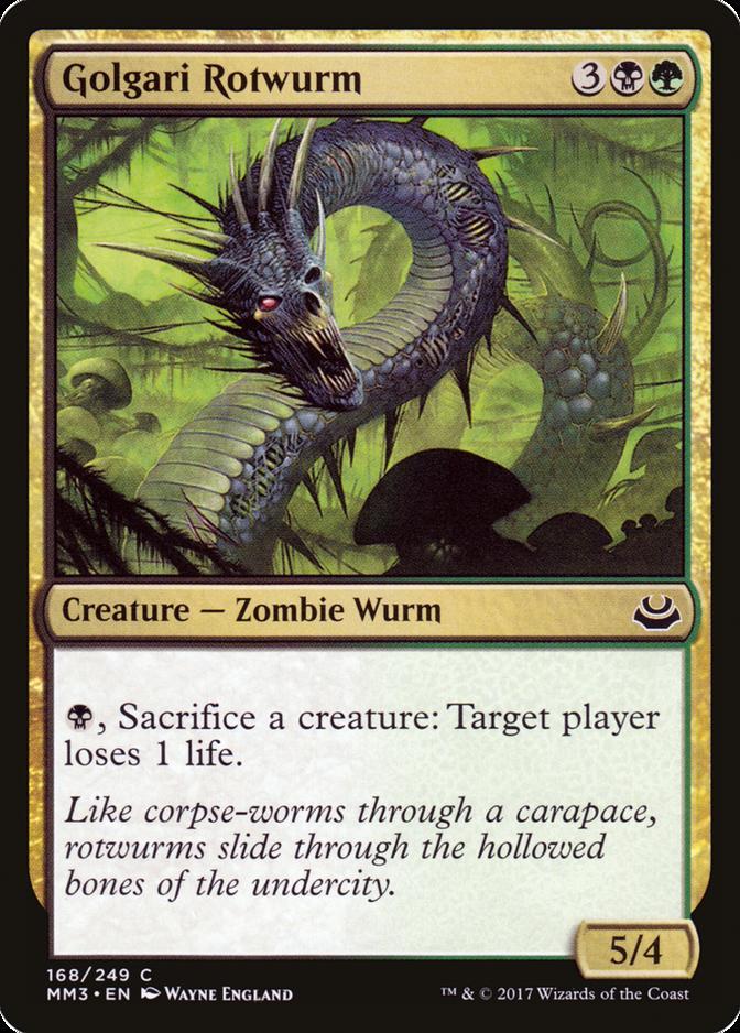 Golgari Rotwurm [MM3]