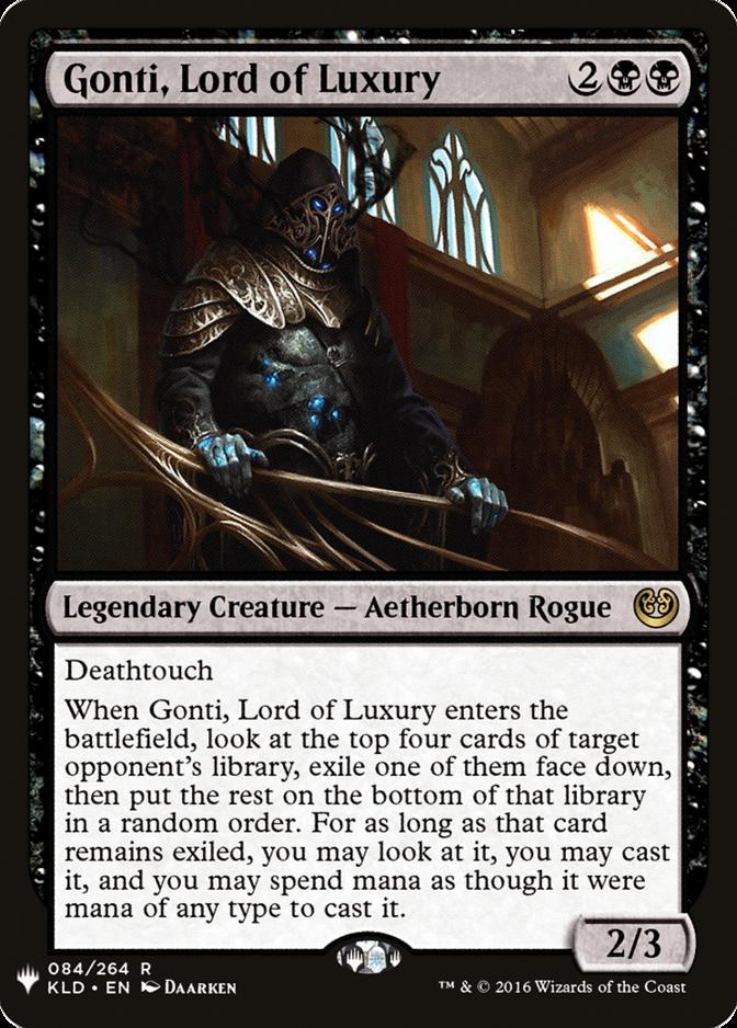 Gonti, Lord of Luxury [MB1]