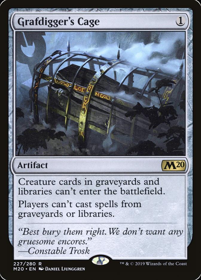 Grafdigger's Cage [M20]