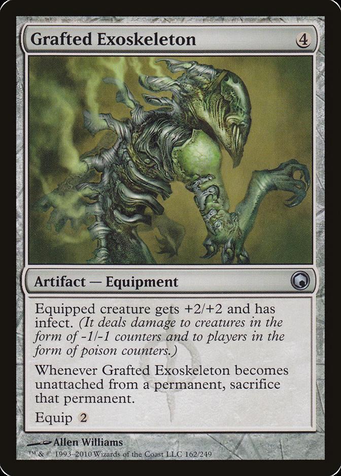 Grafted Exoskeleton [SOM]