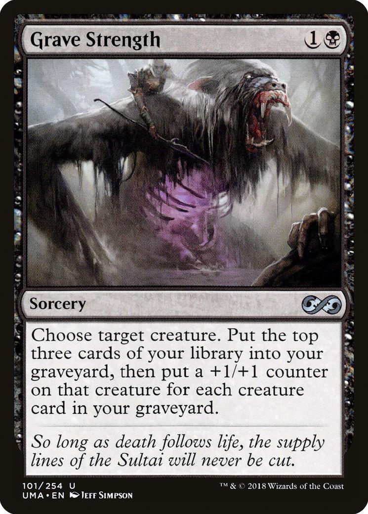 Grave Strength [UMA]