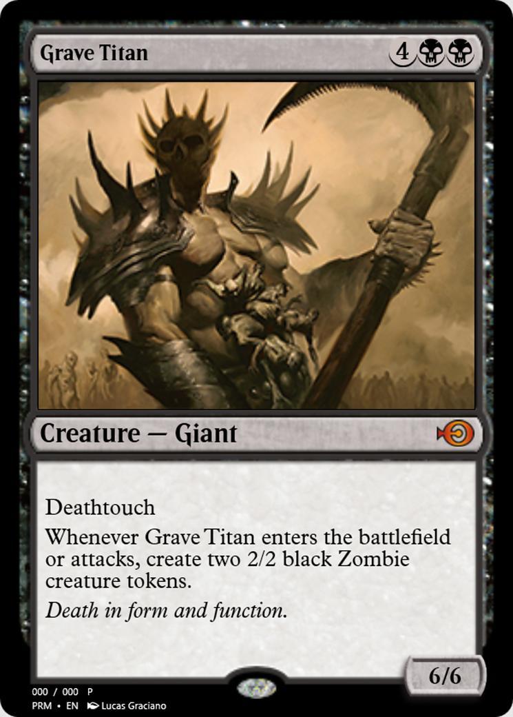 Grave Titan [PRM] (F)