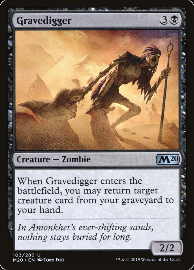 Gravedigger [M20]