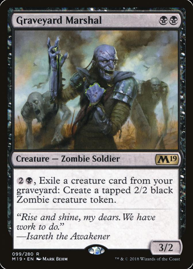 Graveyard Marshal [M19]