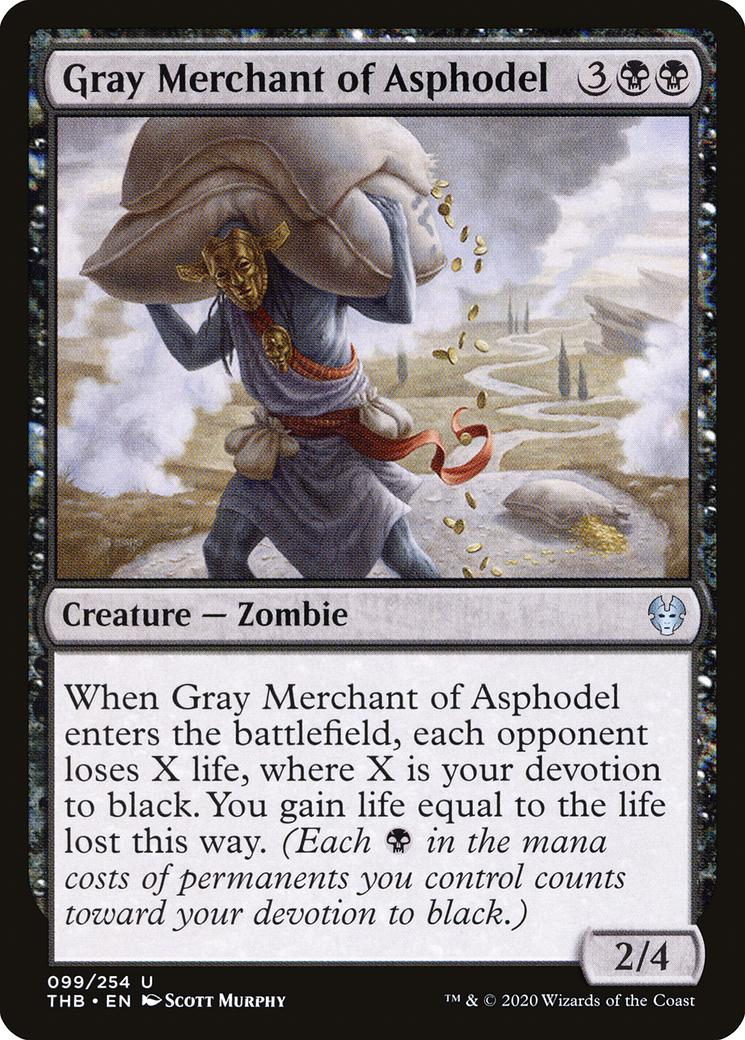 Gray Merchant of Asphodel [THB]