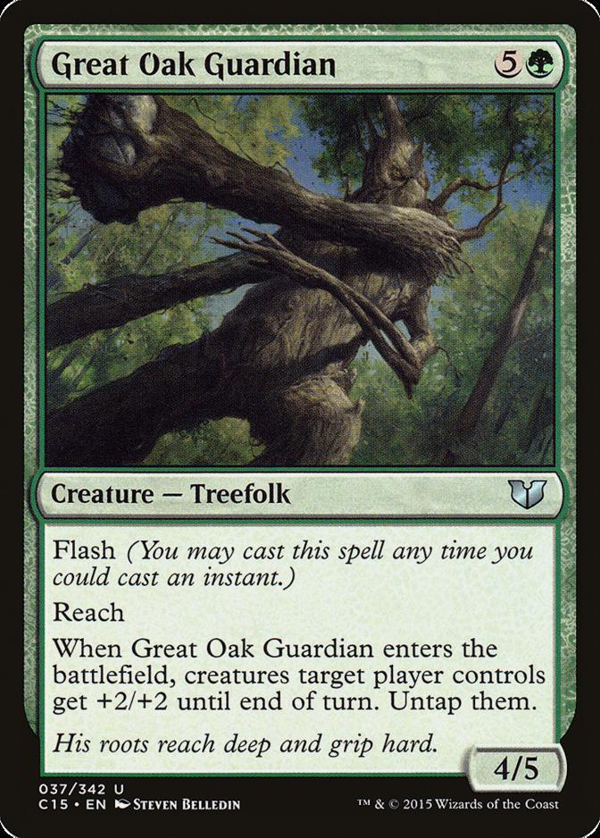 Great Oak Guardian [C15]