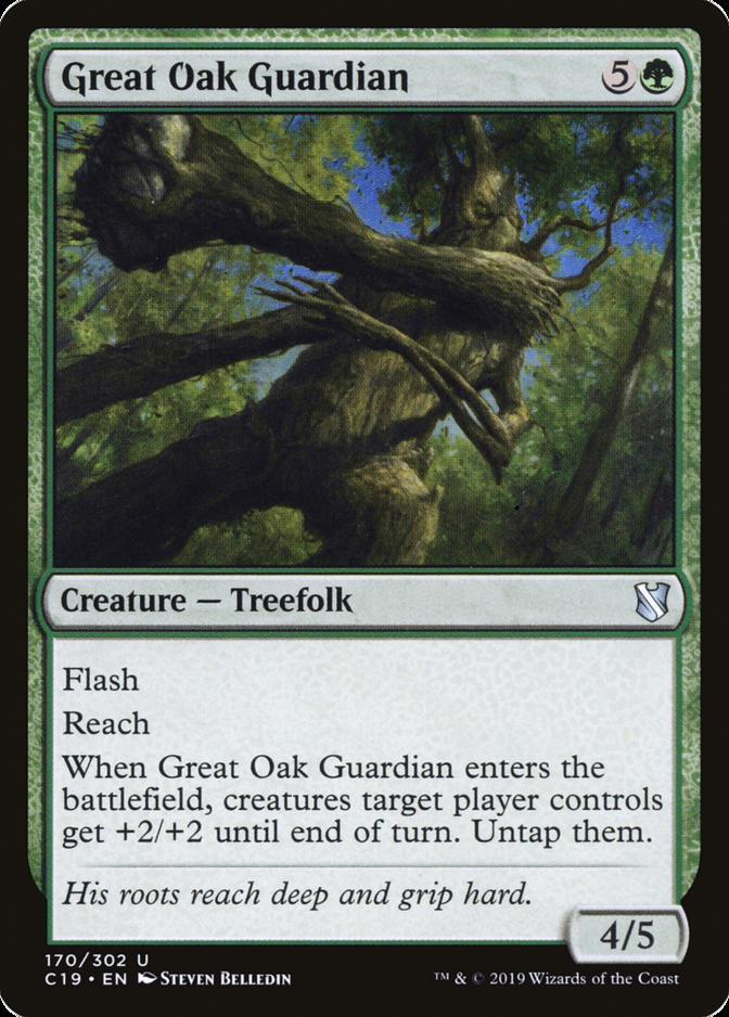 Great Oak Guardian [C19]