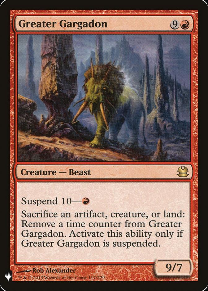 Greater Gargadon [MB1]