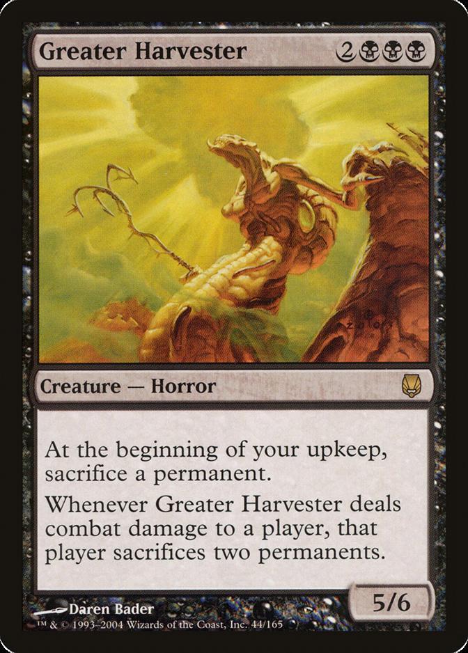 Greater Harvester [DST]