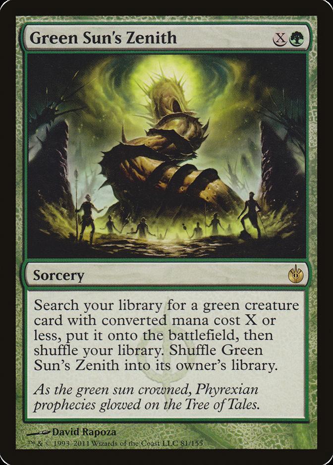 Green Sun's Zenith [MBS]