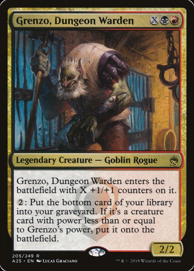 Grenzo, Dungeon Warden [A25]
