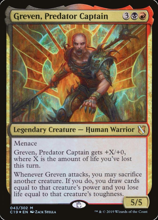 Greven, Predator Captain [C19]