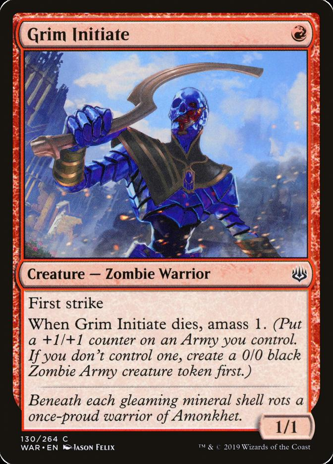 Grim Initiate [WAR] (F)
