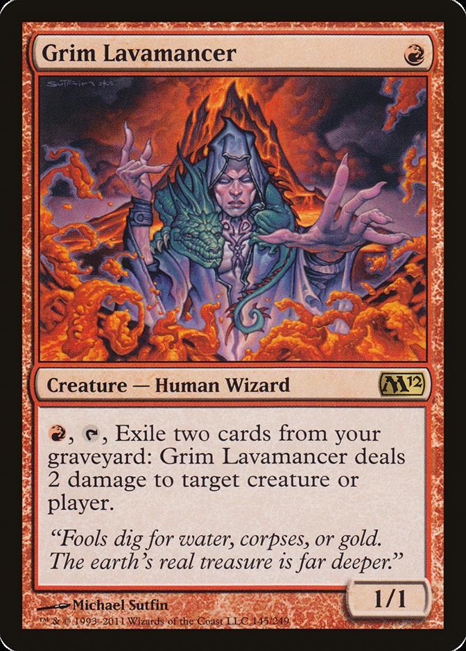 Grim Lavamancer [M12]