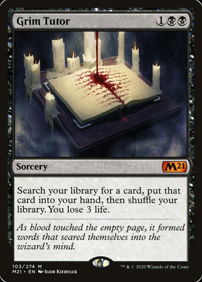 Grim Tutor [M21]