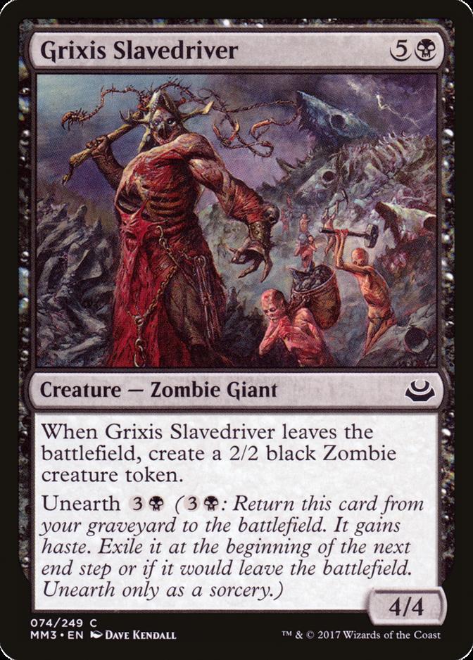 Grixis Slavedriver [MM3]