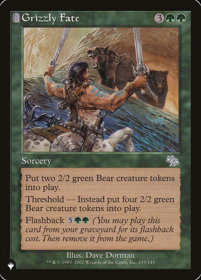 Grizzly Fate [PLIST]
