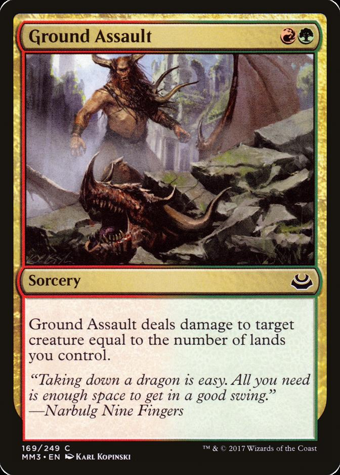 Ground Assault [MM3]