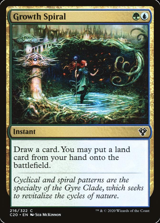 Growth Spiral [C20]