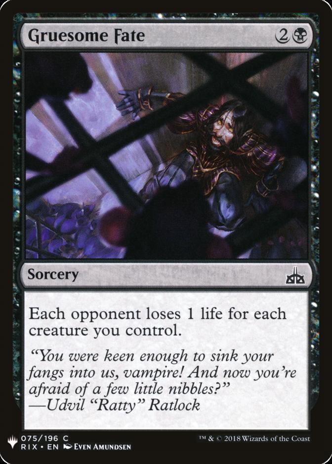 Gruesome Fate [MB1]