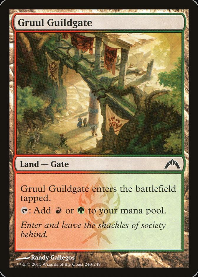 Gruul Guildgate [GTC] (F)