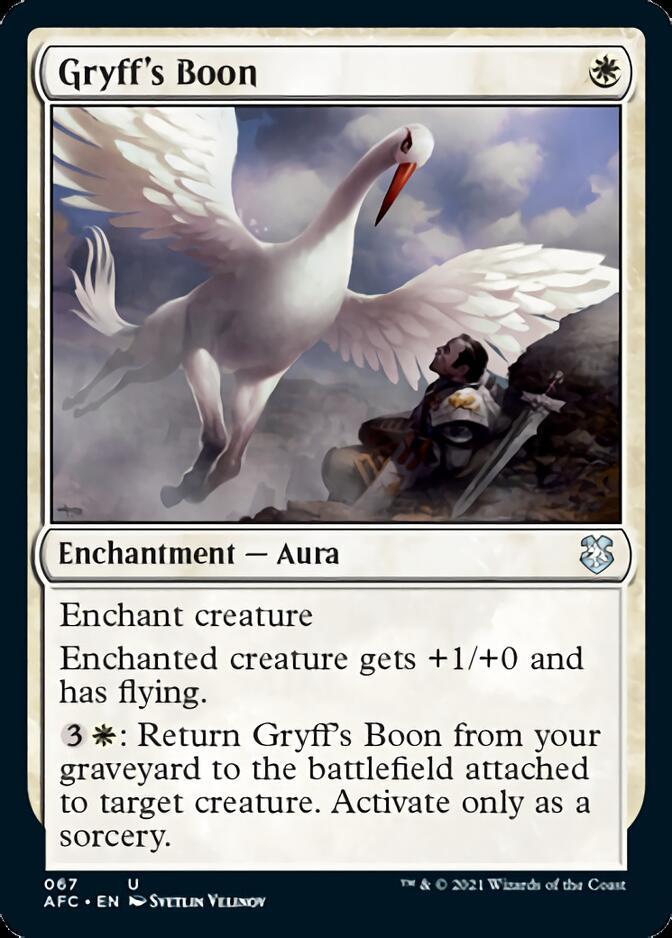 Gryff's Boon [AFC]
