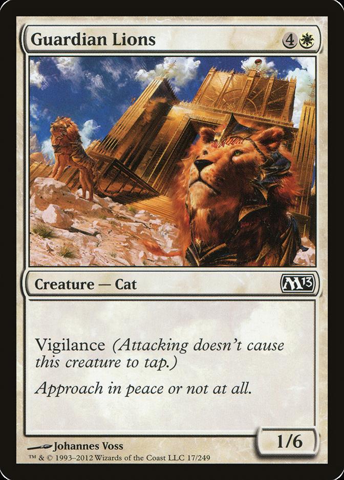 Guardian Lions [M13] (F)