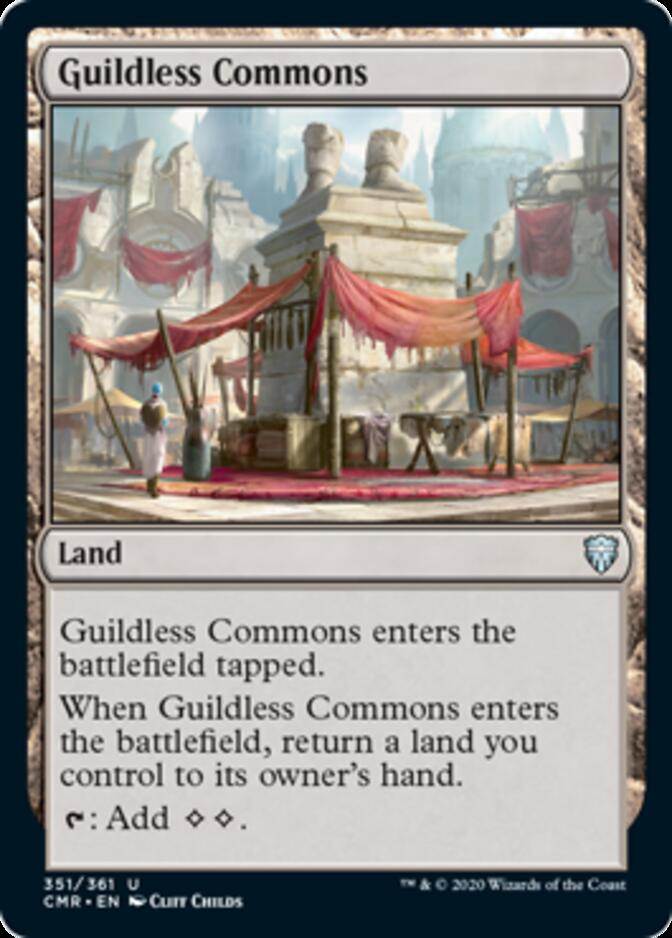 Guildless Commons [CMR]