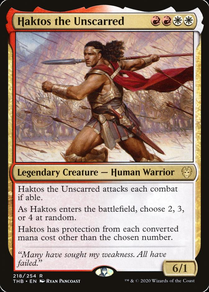 Haktos the Unscarred [THB]