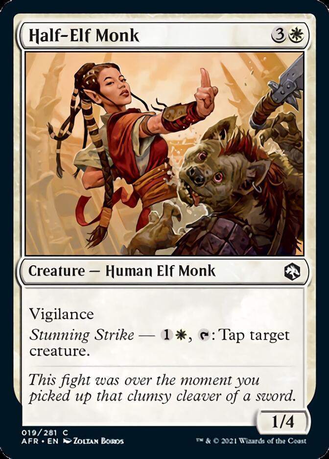 Half-Elf Monk [AFR]