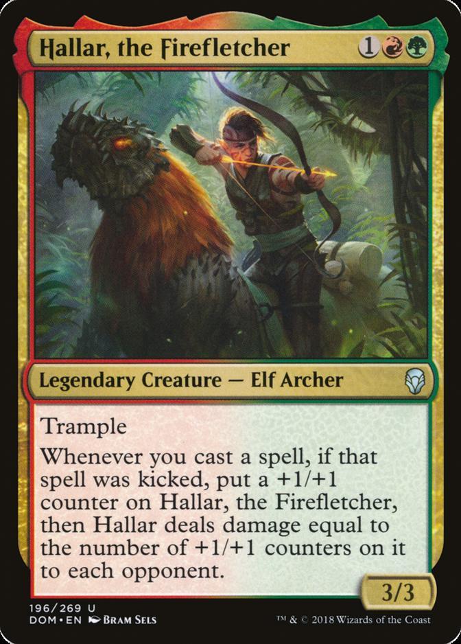 Hallar, the Firefletcher [DOM]