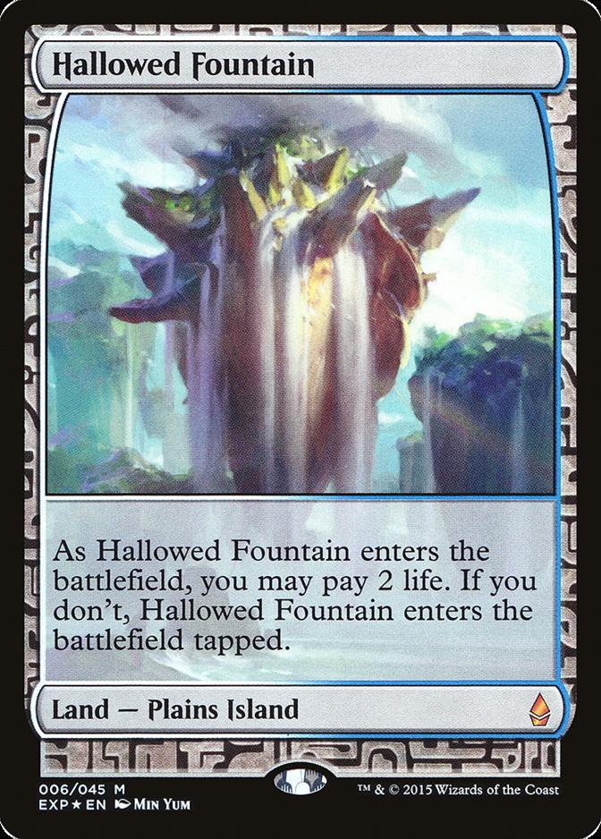 Hallowed Fountain [EXP] (F)