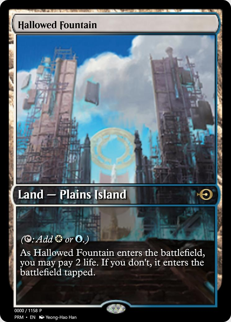 Hallowed Fountain [PRM] (F)