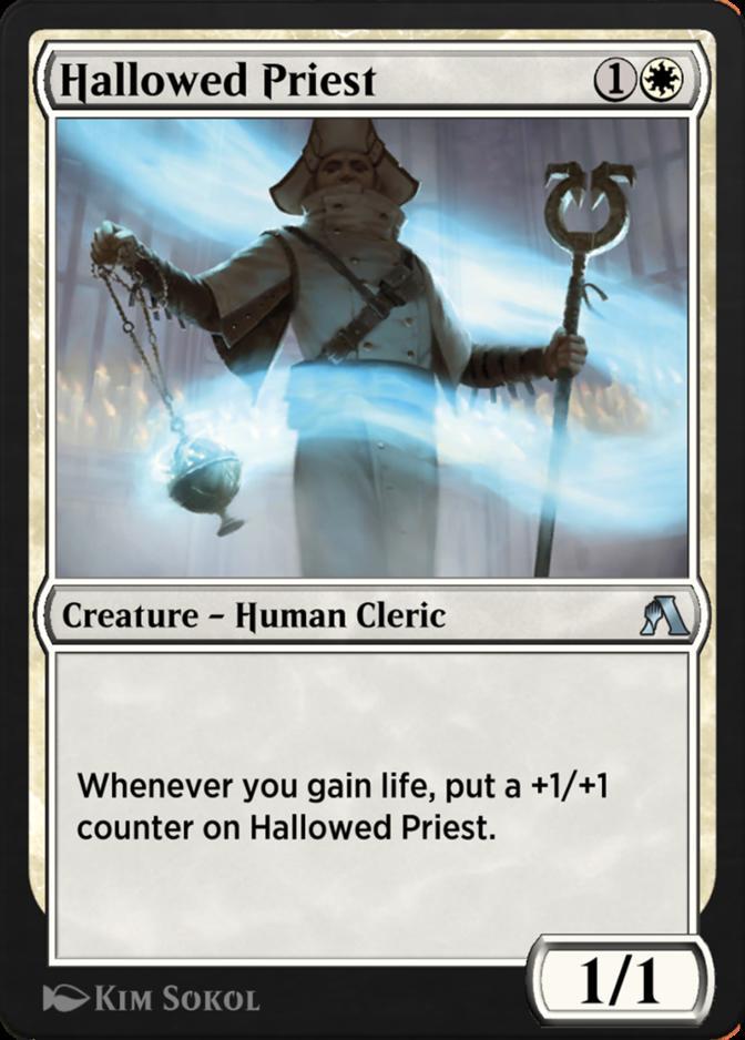 hallowed priest arena beginner set anb price history