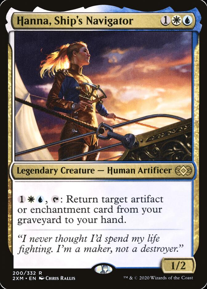 Hanna, Ship's Navigator [2XM]