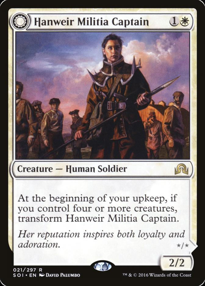 Hanweir Militia Captain [SOI]