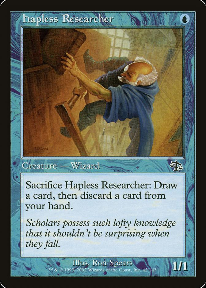 Hapless Researcher [JUD]