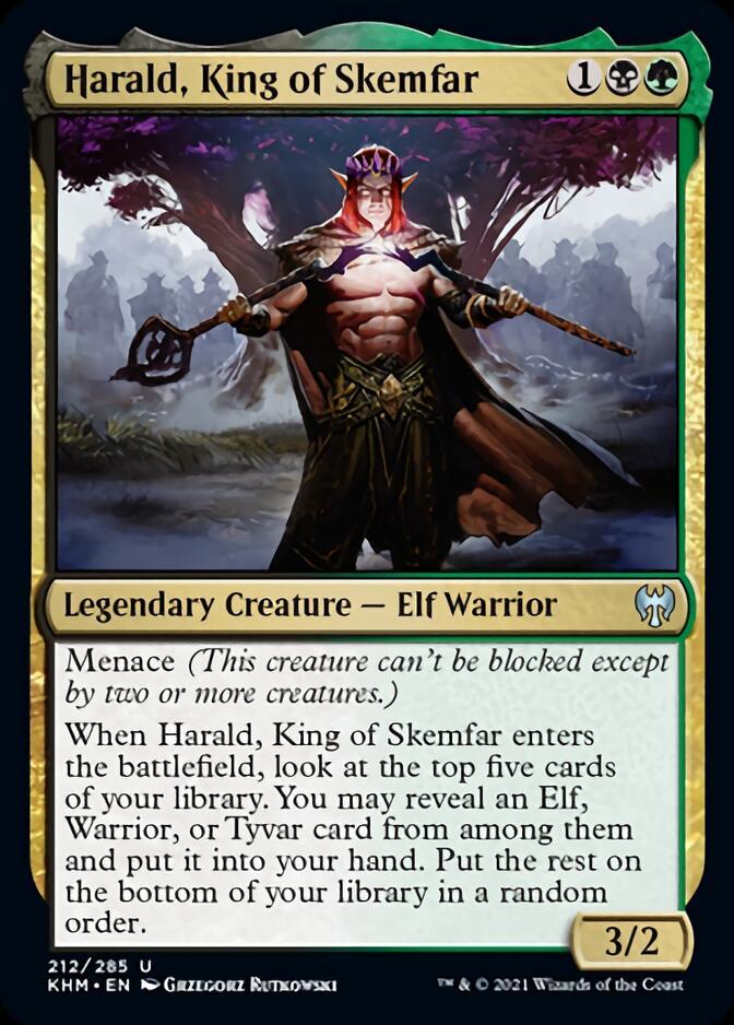 Harald, King of Skemfar [KHM]