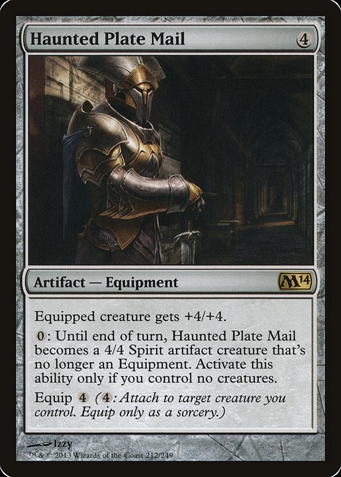 Haunted Plate Mail [M14]