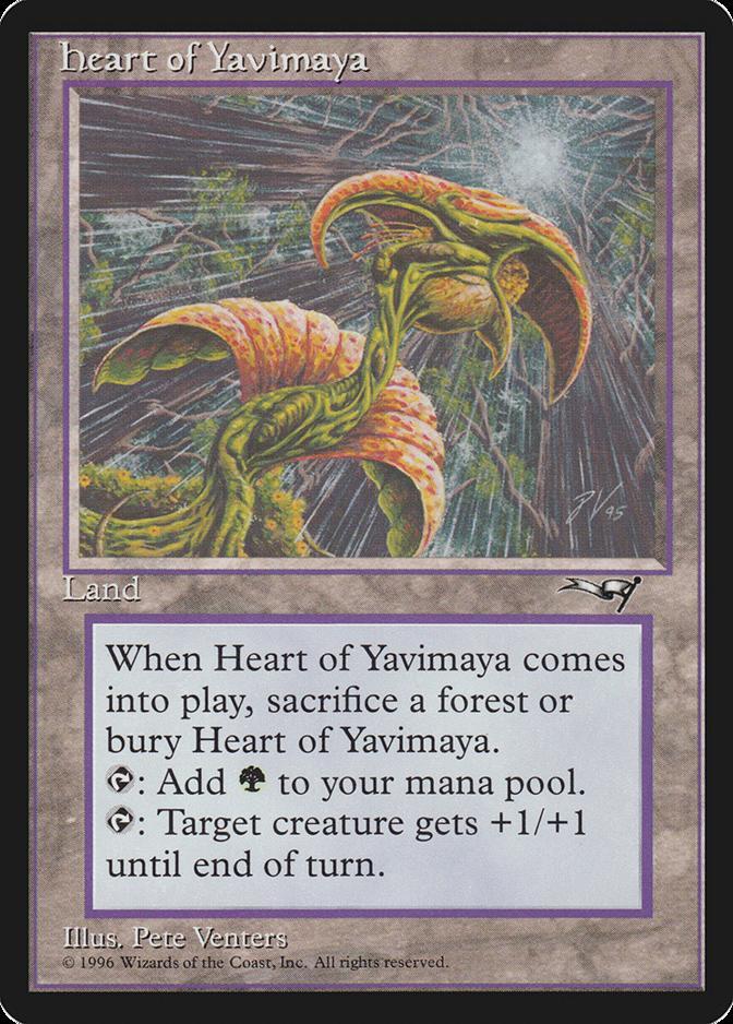 Heart of Yavimaya [ALL]