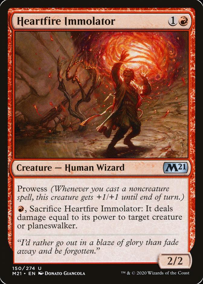 Heartfire Immolator [M21] (F)