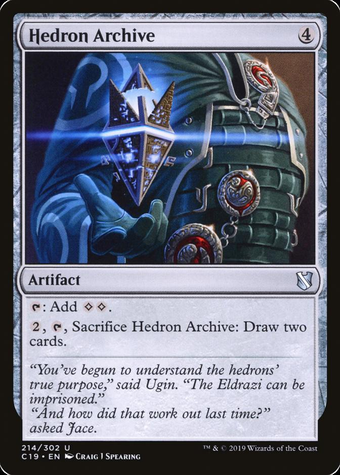 Hedron Archive [C19]