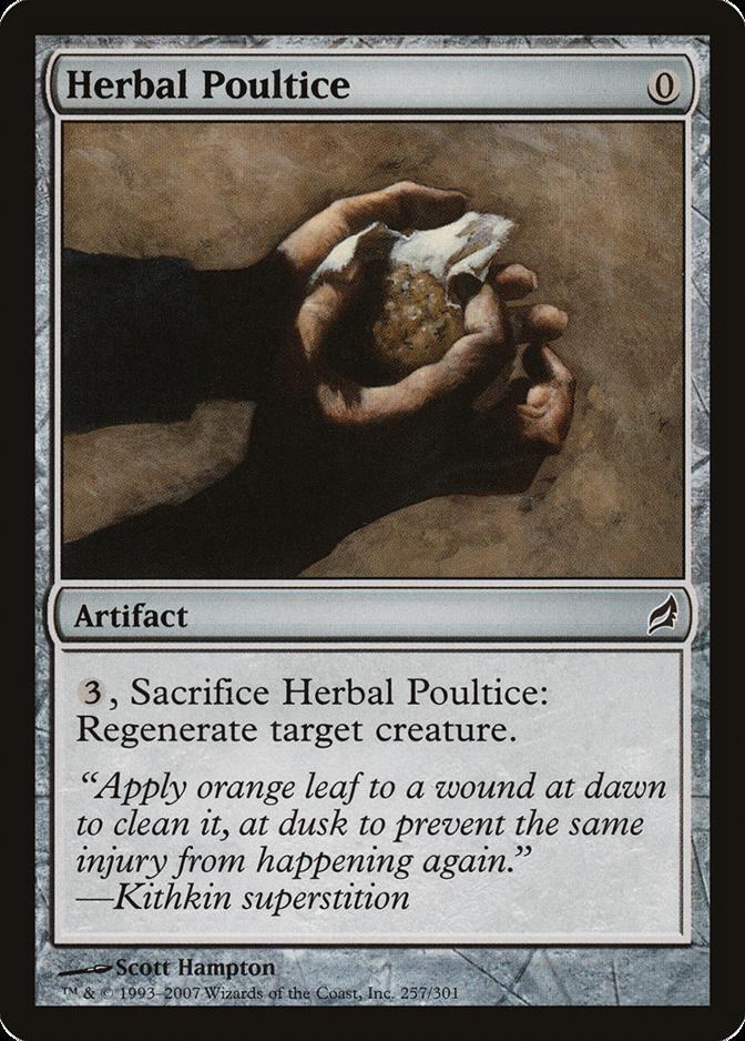Herbal Poultice [LRW]
