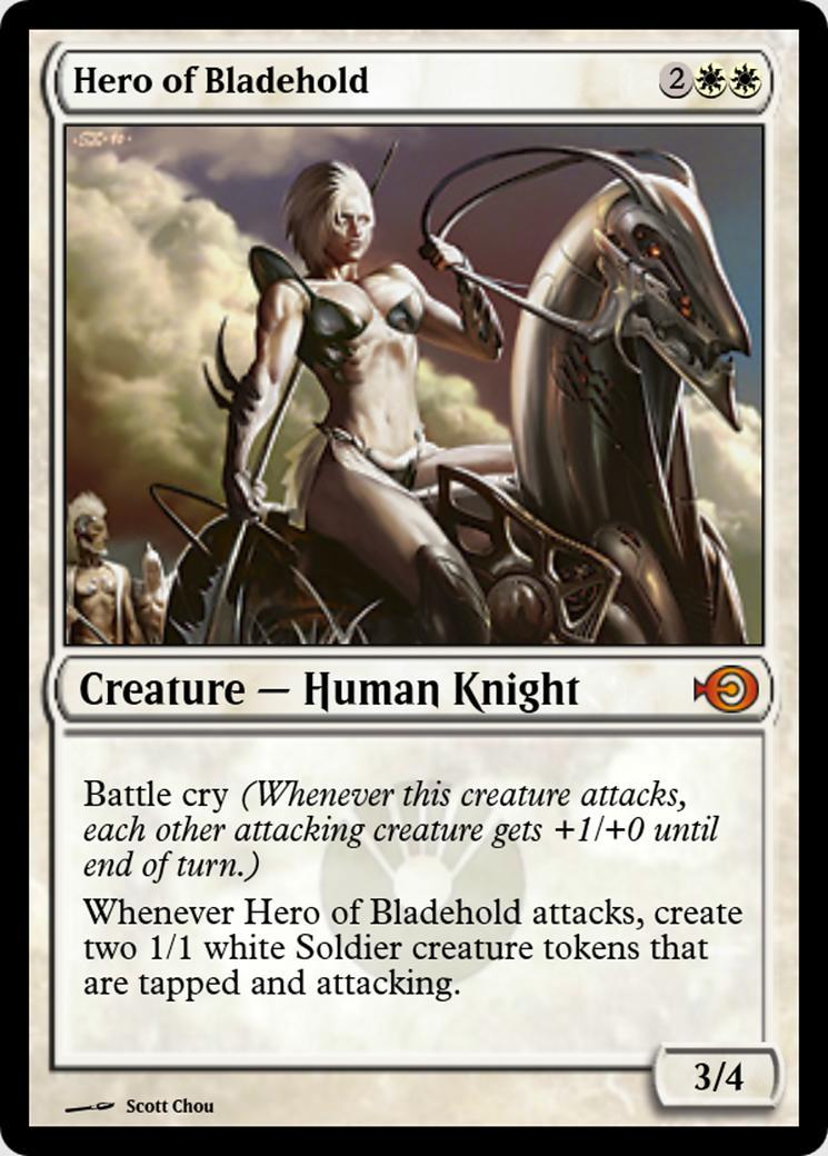 Hero of Bladehold [PRM] (F)