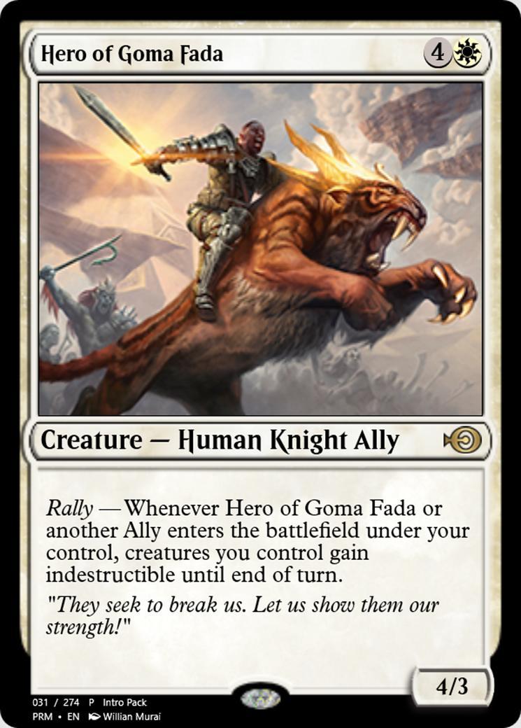 Hero of Goma Fada [PRM]