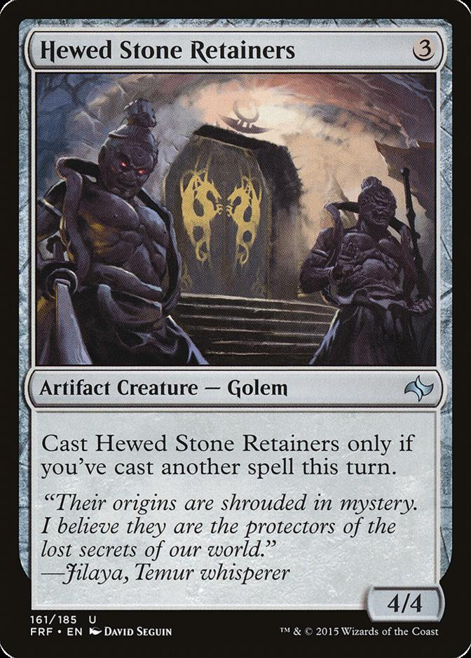 Hewed Stone Retainers [FRF]